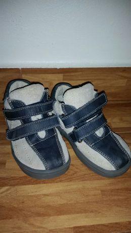Papucei piele băiat