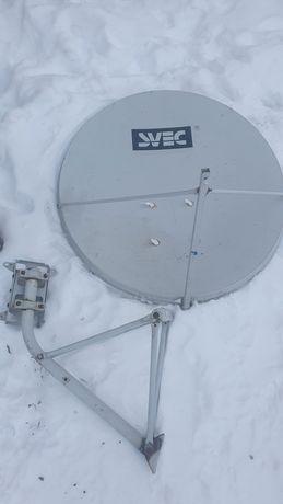 Спутниковая антенна и ресивер