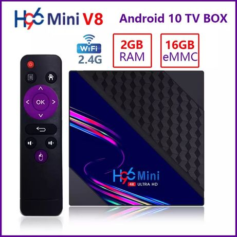 Смарт тв бокс h96mini. Smart tv box на Android для любого телевизора