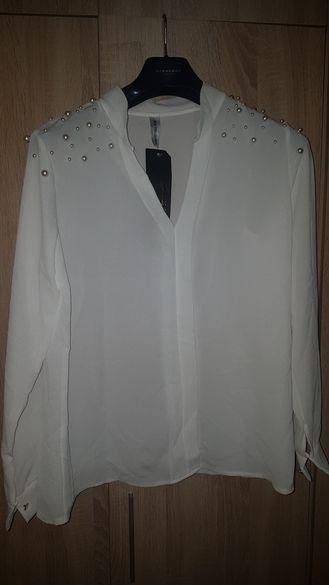 Дамска риза с перли