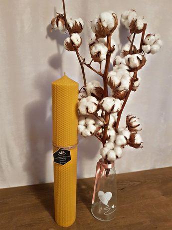 Lumanari tip fagure din ceara naturala de albine