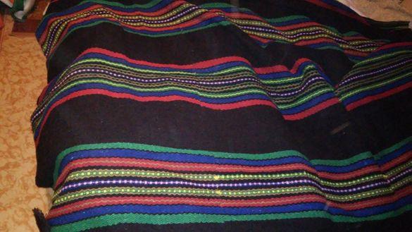 Черги-килим вълнени ръчна изработка