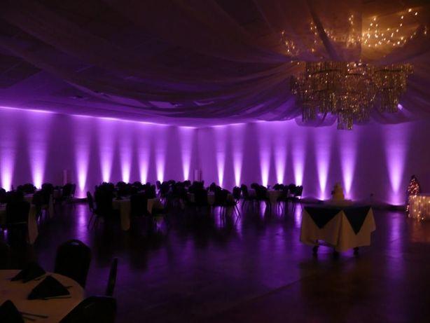 Lumini arhitecturale pt.nunti,botezuri,pachet 15 lumini led la 500 ron