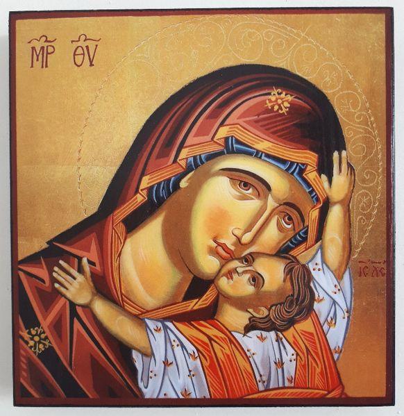 Икона на Света Богородица icona Sveta Bogorodica гр. Пловдив - image 1