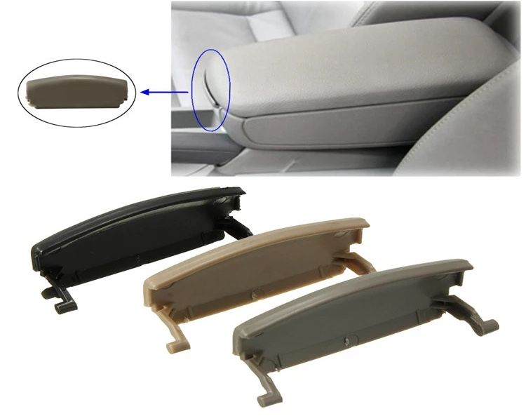 Buton / clapeta pentru capac cotiera Audi A4 B6 B7 culoare BEJ