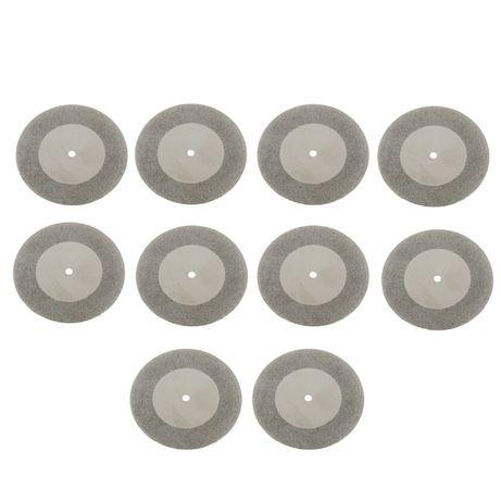 ( 10 ) бр Диамантени дискове за сухо и мокро рязане мултишлайф Dremel