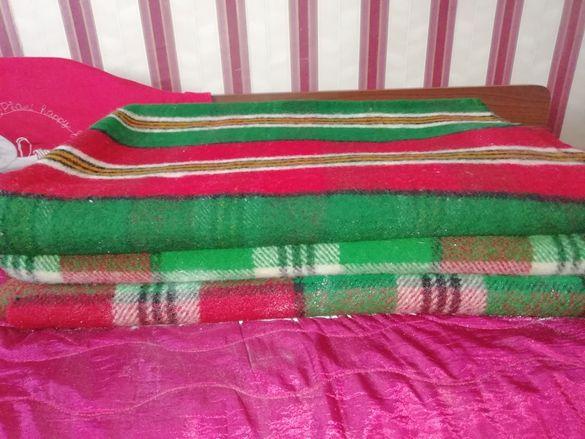 Родопски одеяла - 100% вълна