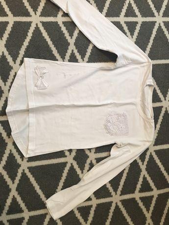Bluze albe de scoala copi