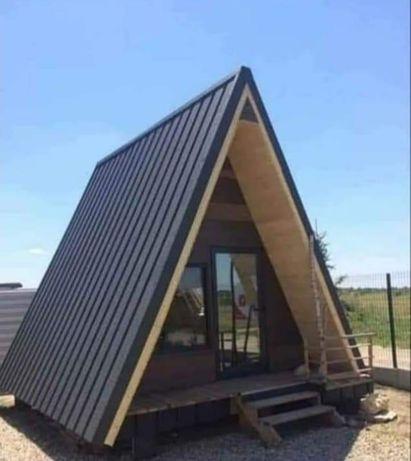 Construim Case din Panouri Sendwich sau Cabane din Lemn Foisoare Garaj
