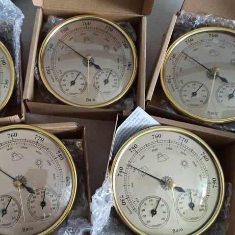 Метеостанция прецизионный анероид 3 в 1 барометр термометр гигрометр