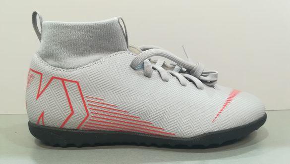 Nike Mercurial N38/24см.Детски футболни стоножки с чорап