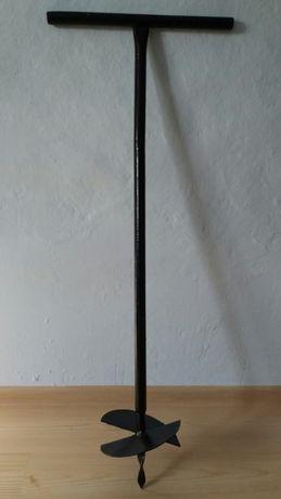 Burghiu manual pentru gropi in pamant 20 cm Foreza