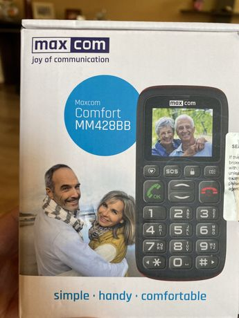 Telefon mobil cu garantie 2 ani Max com dual sim MM428BB