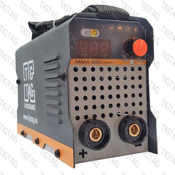 Инверторен електрожен ММА 210 Pro-R с фотосоларна маска в комплект гр. Хасково - image 1