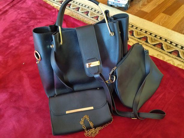 Женская сумка 3в1