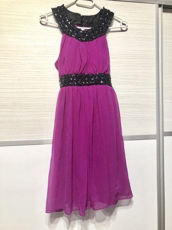 Rochie elegantă roz fuchsia - Moda Aliss