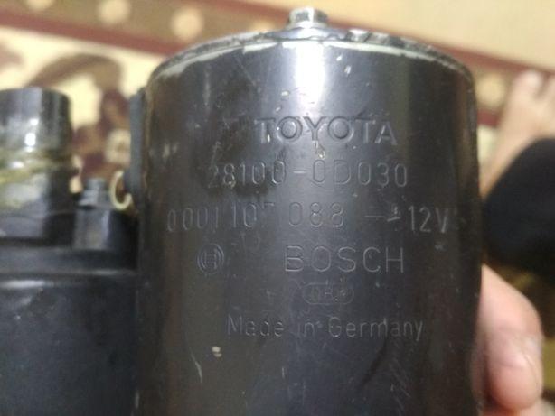 Стартер тойота королла,оригинал фирмы Bosch , модель 2002 года,