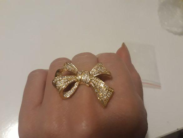 Дамски пръстен размер 5 нов