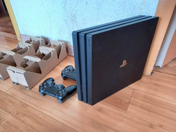 Sony playstation 4 PRO 1TB 1000GB 4K HDR/2 джойстика/игра/ps 4 пс 4