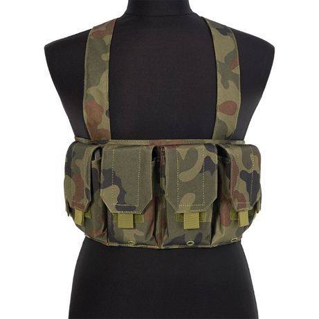 Airsoft Ham Tactic Chest Rig Woodland Panther GFC Tactical