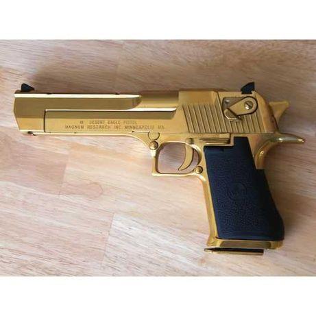 Pistol UNICAT Baby Desert Eagle GOLD 4,4 j/ Full Metal/ USA MODEL