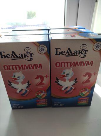 Детское питание смесь Беллакт оптимум 2  6 пачек