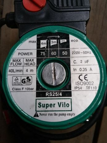 Pompa Centrala WILO 25/40/130 (Pachet complet+ olandezi)