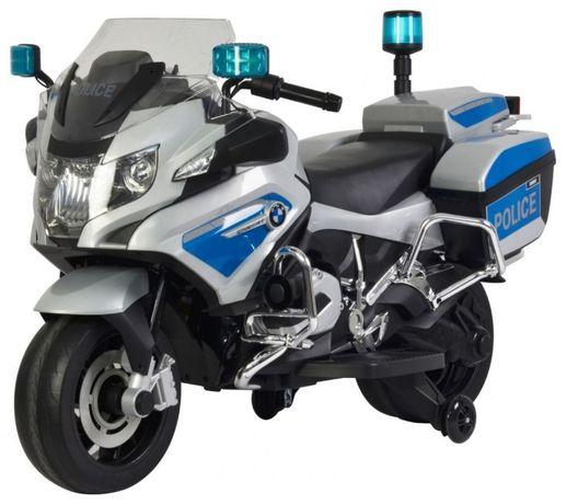 Motocicleta electrica pentru copii BMW Police (212) 12 volti