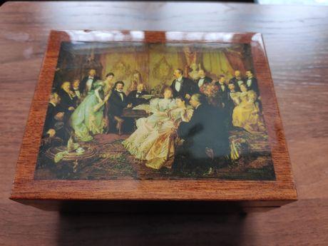 швейцарская, коллекционная музыкальная шкатулка Romance