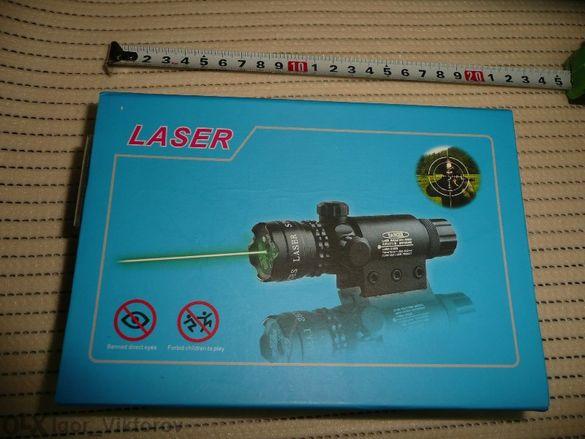 Лазерен прицел / мерник зелен