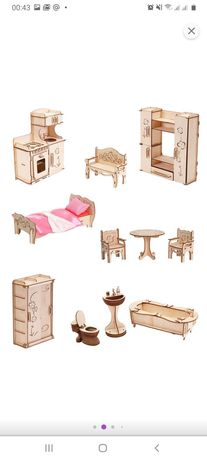 Кукольные домики (мебель)