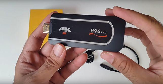 H96 Pro TV Dongle 8-ядерный малыш на Amlogic S912 СмартТВ Стик
