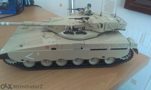 Танк-Мerkava Mk I .Мащаб-1:35.