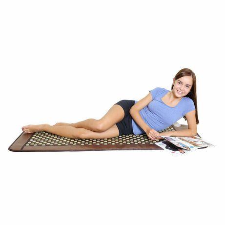 Загряващ килим постелка от турманиева нано керамика и нефрит