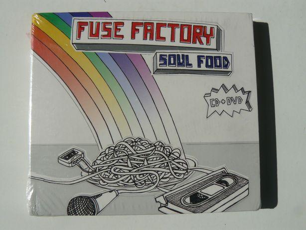 "CD Album "" Fuse Factory – Soul Food"" si DVD, 2 in 1, Nou Sigilat."