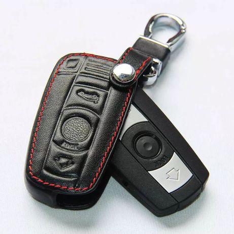 Кожен калъф за ключ Bmw E90 E30 E60 E34 E36 E38 E39 E46 320 X1 X3 X5