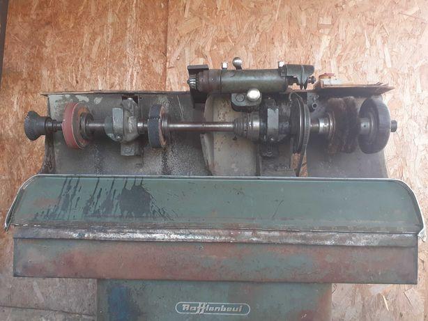 Combina polizor frază și aspirator pentru reparații încălțăminte