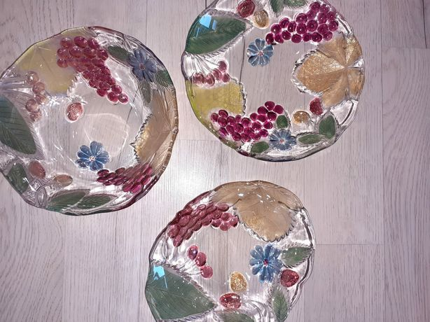 Fructiere din sticla