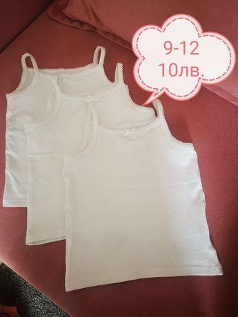 Бебешки дрешки zara, hm, next блузка, рокля, комплект 9-12м. 80р