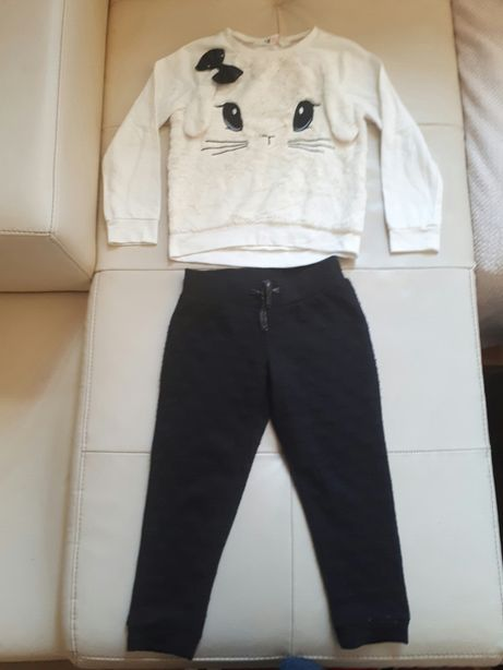 Lot haine fetiță 110/116