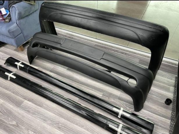 Мерседес W210 передний, задний бампер, пороги