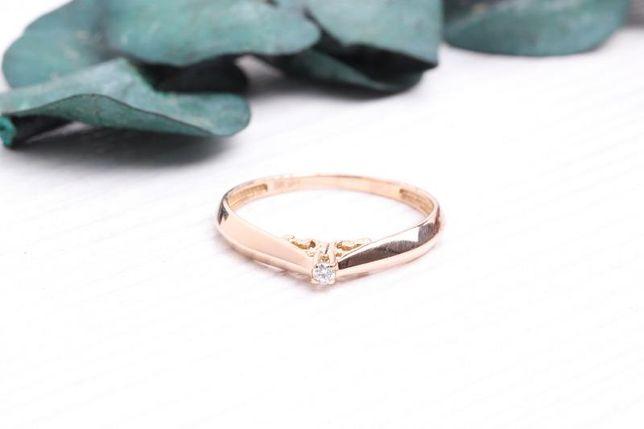 Кольцо с бриллиантом, золото 585 Россия, вес 1.18 г. «Ломбард Белый»