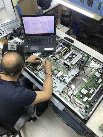 Мастер по ремонту телевизоров LG Sony Samsung Toshiba выезд бесплатный