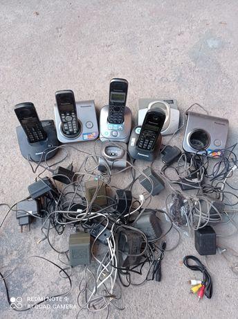 Радио телефоны на запчасти, всё за 2000т