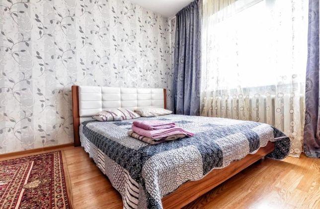 1-ком-я квартира посуточно на Розыбакиева Тимирязева рядом с Трц Мега