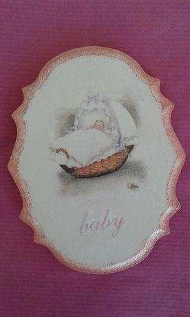 Подарък за бебе момиче - ръчна изработка