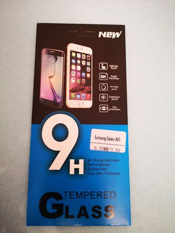 Samsung A40 - Folie sticla / 9H Tempered Glass