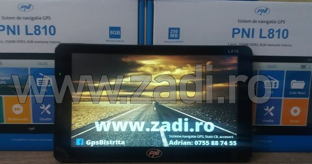 Gps profesional, harti toata europa,program camion, garantie 2 ani