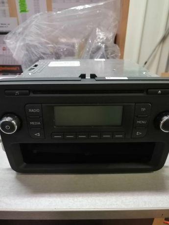 Radio cd original Skoda Rapid si sistem MiB pt Octavia 3