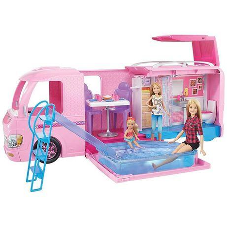 Barbie Барби Кемпер Каравана Къмпинг с Пързалка и Басейн